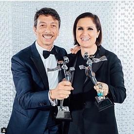 Пиерпаоло Пичоли и Мария Грация Кюри