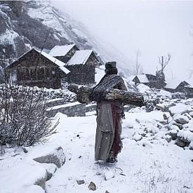 """Трето място, Хора - """"Remote Life At −21 Degrees"""", Химашал Прадеш, Индия"""