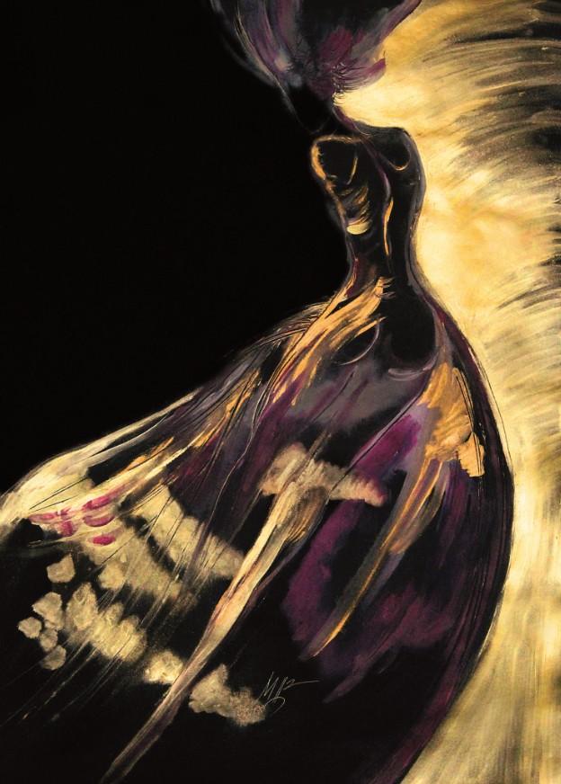 Картина на Мая Цанкова от изложбата
