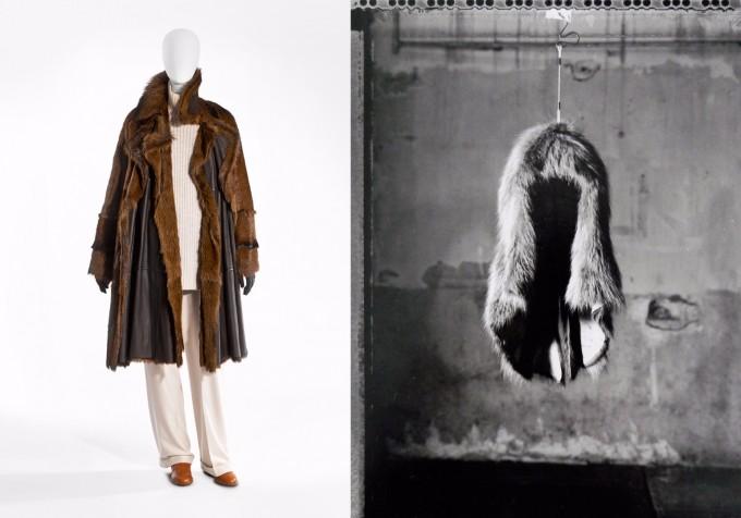 Hermès A/W 2001-2002   Снимка: Stany Dederen  Черно-бяла - Maison Martin Margiela...