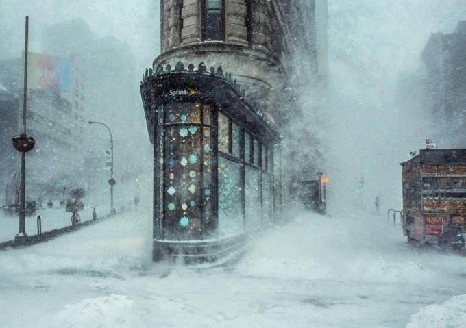 "Джонас Близард  - ""The Flatiron Building"", Ню Йорк, САЩ"
