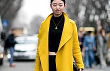 Street style в жълто