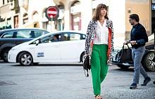 Цветният панталон за пролет-лято 2017