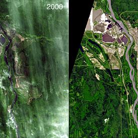 Разцветът на нефтените пясъци в Алберта (Канада)