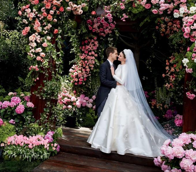 Миранда Кер се омъжи за най-младия милиардер в света