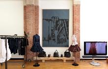 Работното ателие и бутик на Азедин Алая в Париж