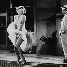 """Мерилин Монро, """"Проклетите седем години"""":  Кадърът, който остана в историята, нямаше да е възможен без тази бяла рокля."""