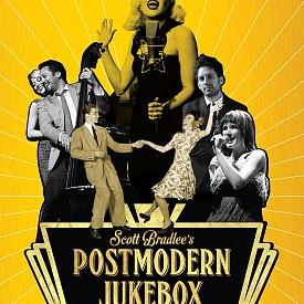 """""""Postmodern Jukebox: Музиката извън кутията"""" е първата книга на създателя на успешния проект – Скот Брадли, в която той споделя как една невъзможно налудничава идея, реализирана от обикновени хора, нараства до световен феномен.  Това е историята на Postmodern Jukebox, историята на едно петолиние, по което се изкачи цяла една нова култура. Всеки артист, който някога е почувствал трудностите пред това да намери признание, ще усети дълбока връзка с шантавата, разсмиваща, затрогваща история на малкото момче от Бруклин, което постепенно завладява света."""