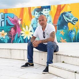 Пъстрите спомени от детството на най-талантливите графити артисти на България