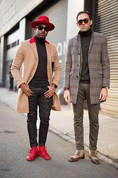 Street style от Ню Йорк / Седмица на мъжката мода есен/зима 16/17