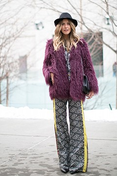 Street style с кожух за зима 2015