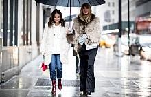 Дъждът не пречи да сме стилни