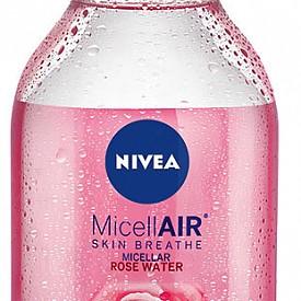 Двуфазна мицеларна вода с розова вода NIVEA MicellAIR Rose