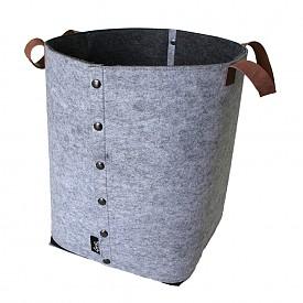 Кош от филц с кожени дръжки www.norsu.com.au