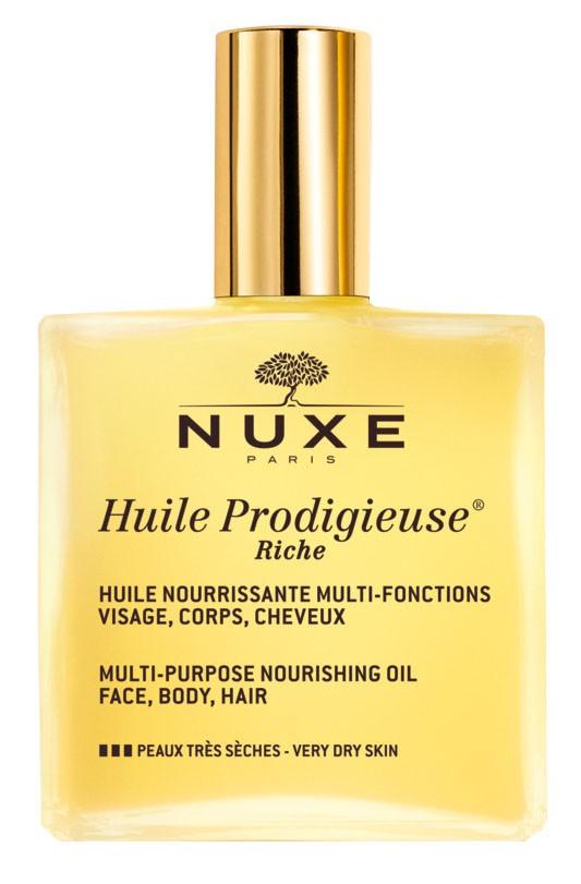 Култовото многофункционално сухо олио Huile Prodigieuse на NUXE...
