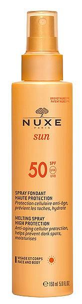 Слънцезащитен спрей със SPF50 на NUXE