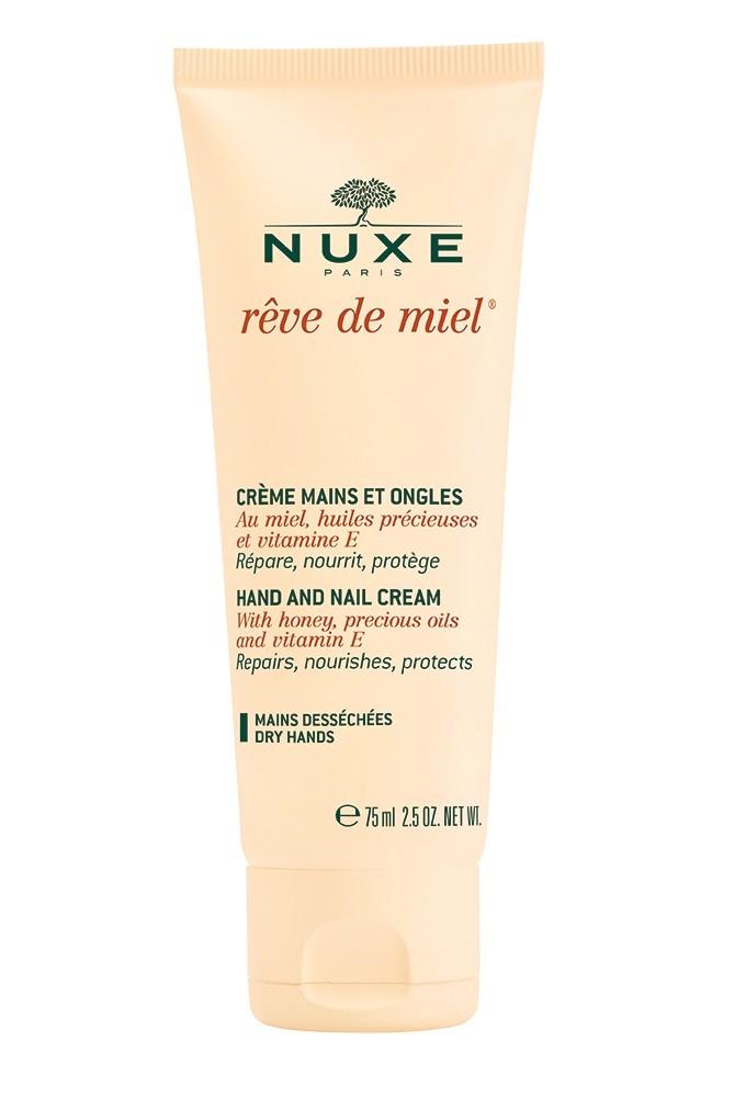 Подхранващ крем за ръце и нокти Reve de Miel на Nuxe, 18.80 лв.