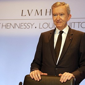 Бернард Арно - собственик на модния холдинг LVMH