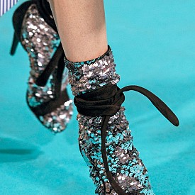 Комбинация сандали с чорапи Off White SS17