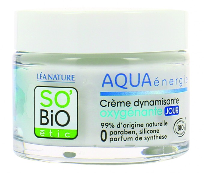Оксигениращ дневен крем Aqua energie на So Bio
