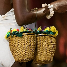 Плетена чанта Charolotte Olimpia пролет-лято 17
