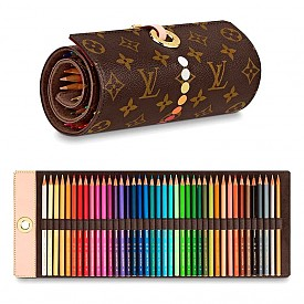 Оцветяваме с моливи на Louis Vuitton