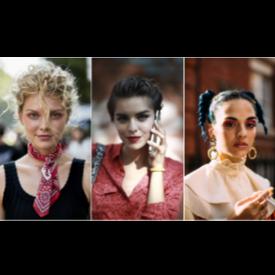 Най-забележителните бюти визии в публиката на седмиците на модата