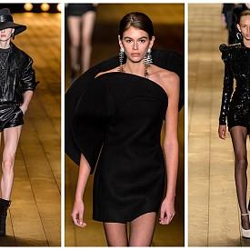 Парижки парти стил, вдъхновен от Saint Laurent