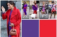 Как да смесим лилаво с червено и да изглеждаме по-добре от Меган Маркъл