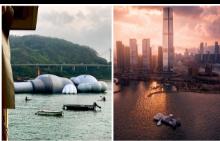Какво е това, което плува във водите на Хонг Конг?