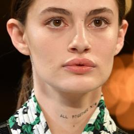 TREND REPORT: Временни татуировки по лицето