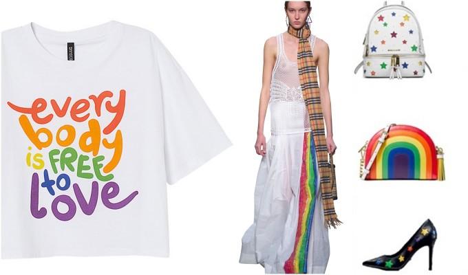 Оляво надясно: H&M, Burberry, Michael Kors