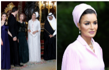 Стилът на шейха Моза - най-влиятелната жена в арабския свят