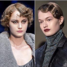 16 идеи за ретро прически от модния подиум