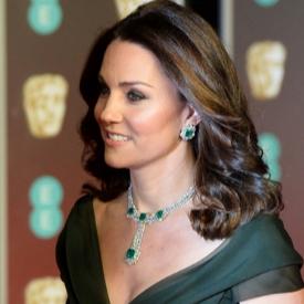 Какво попречи на Кейт Мидълтън да се появи в черно за наградите BAFTA?