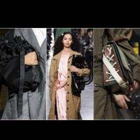 Новият начин да носим чантите си: Simone Rocha, Rejina Pyo, J.W.Anderson (отляво надясно)
