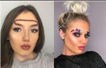 Странните вежди, които заляха Instagram