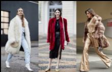 Палтата от кожа с косъм – модната стража срещу студа