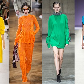 Max Mara, Stella McCartney, Christopher Kane, Versace