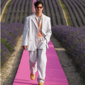 Шоу сред лавандулите - Jacquemus пролет-лято 2020г.