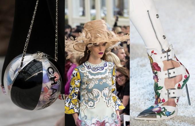 Chanel, Valentino, Alexander McQueen