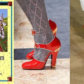 ВЪЛШЕБНИКЪТ ОТ ОЗ - Дороти и нейните червени обувки са навсякъде този сезон.