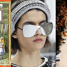 АЛИСА В СТРАНАТА НА ОГЛЕДАЛАТА - Металните елементи присъстваха на модния подиум и акцентираха при редица дизайнери като при Chanel и Mugler