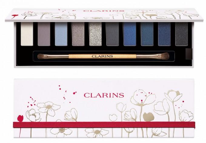Палитра сенки The Essentials на CLARINS – с 5 блестящи, 1 сив...