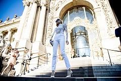 Street style в бяло
