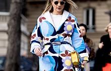 Street style визии с палто за есен 2017