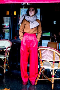 30 Street style визии за есента от Париж