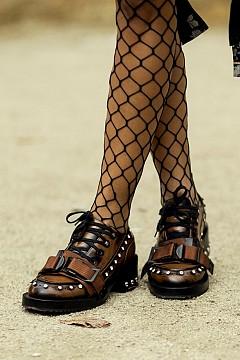 Обувките от улиците на големите модни градове