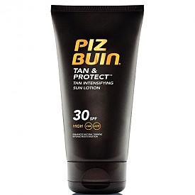 Лосион със специална съставка Melitan за ускорено придобиване на тен с SPF 30 Tan & Protection на Piz Buin