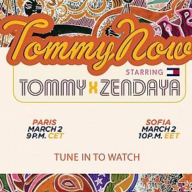 LIVESTREAM: #TOMMYNOW PARIS - TommyXZendaya